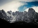 Die eindrückliche Gebirgskette des Wilden Kaisers (Foto: Christian Krr)