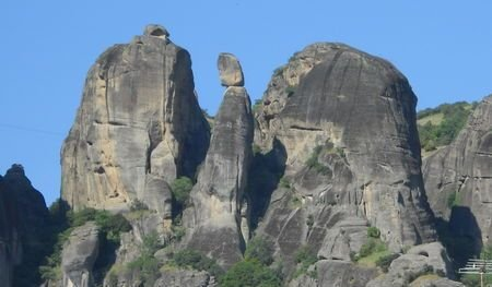 Die Nonne oberhalb von Kalambaka, Meteora